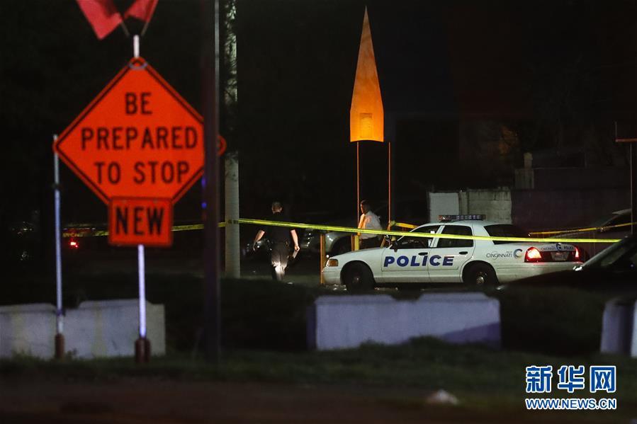 (外代一線)(1)美國俄亥俄州發生槍擊事件15人傷亡