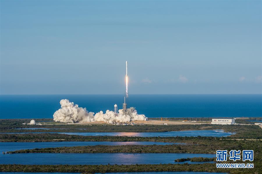 """(國際)(1)美公司首次用""""二手""""火箭發射衛星"""