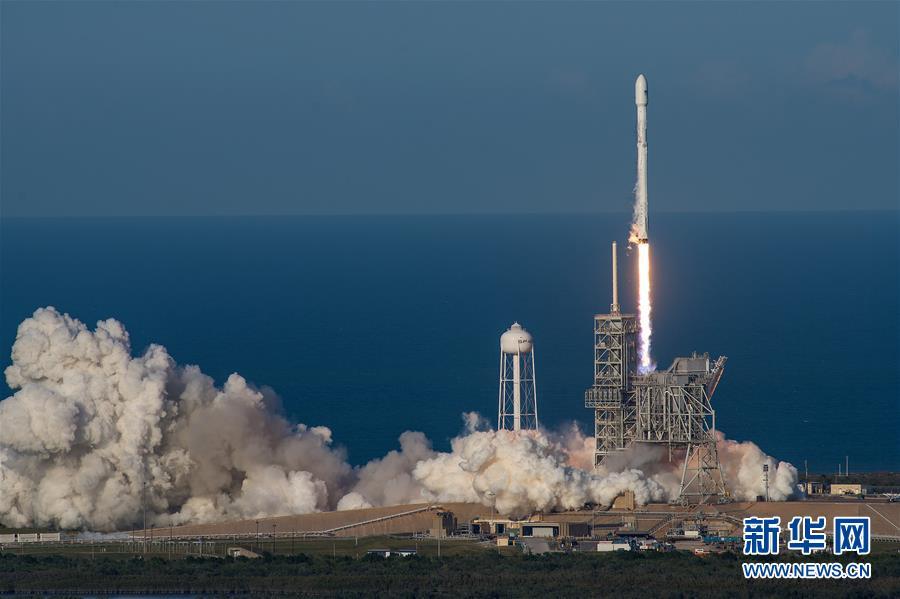 """(國際)(2)美公司首次用""""二手""""火箭發射衛星"""