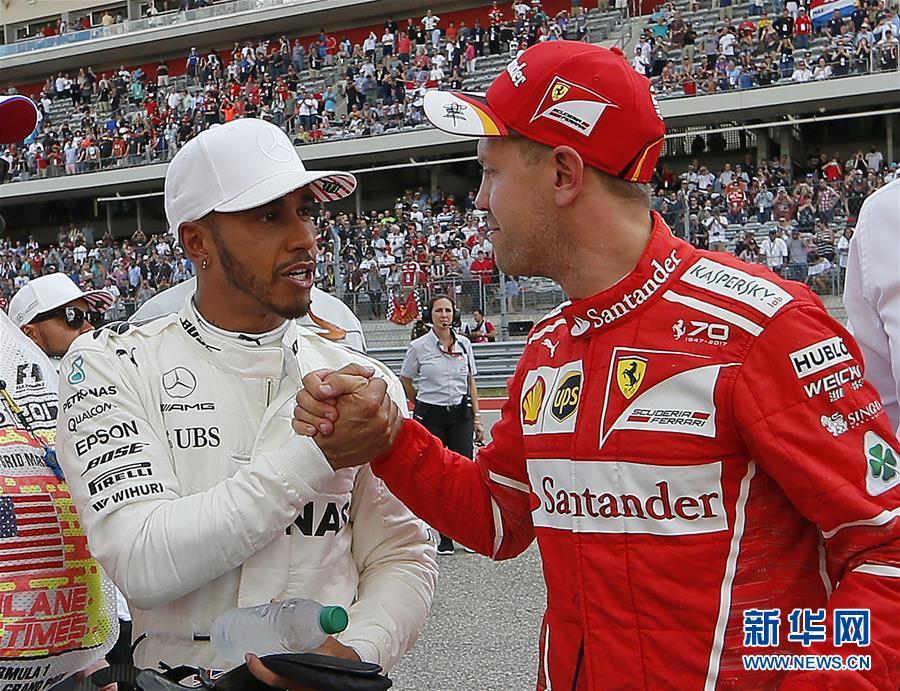 (體育)(4)賽車——F1美國大獎賽:漢密爾頓奪得桿位