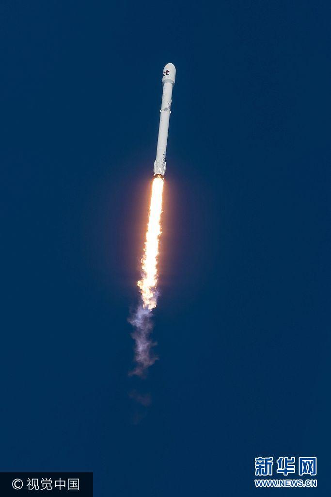 """美國:""""獵鷹9號""""火箭成功為韓國企業送通訊衛星入軌"""