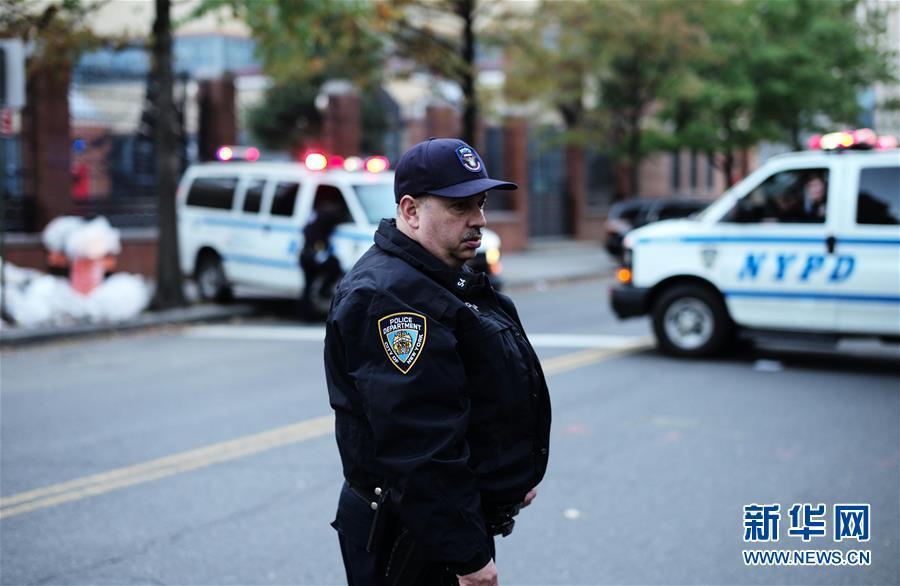 (國際)(2)紐約曼哈頓發生卡車撞人恐怖襲擊事件8人死亡
