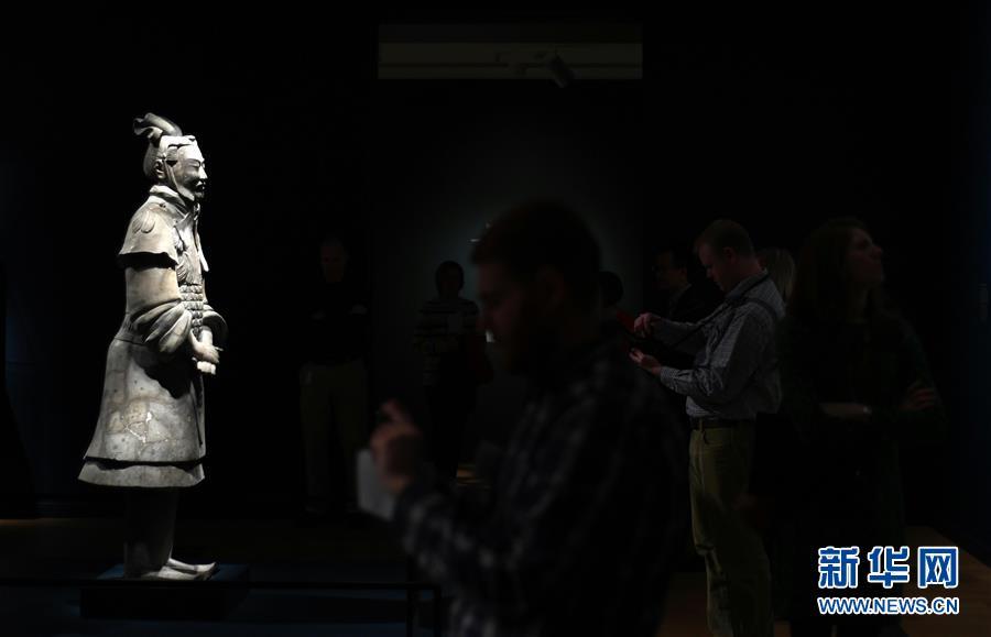 (國際)(1)美國藝術博物館舉辦兵馬俑特展