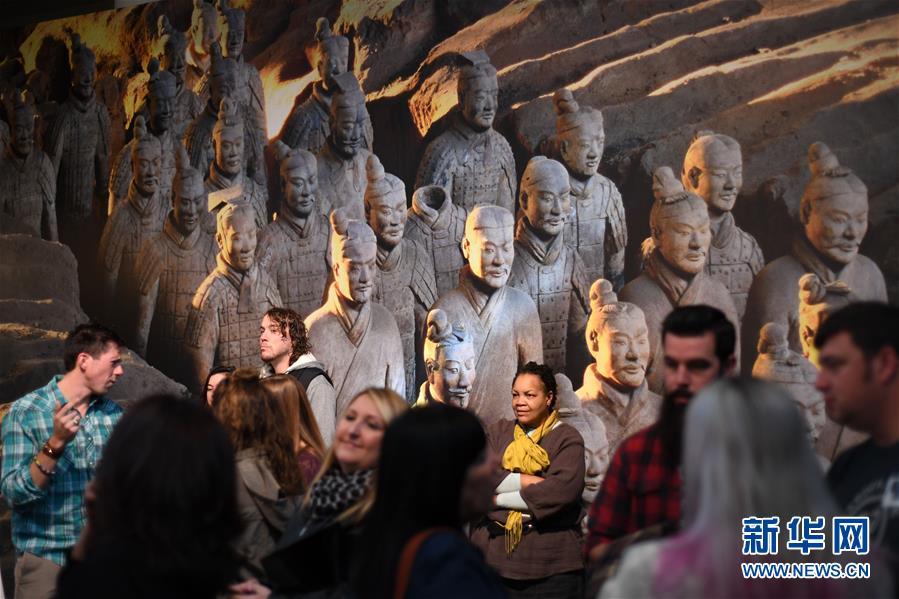 (國際)(2)美國藝術博物館舉辦兵馬俑特展
