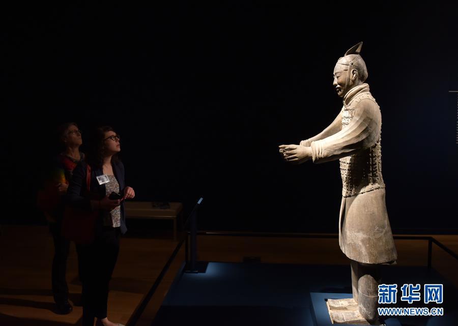 (國際)(3)美國藝術博物館舉辦兵馬俑特展