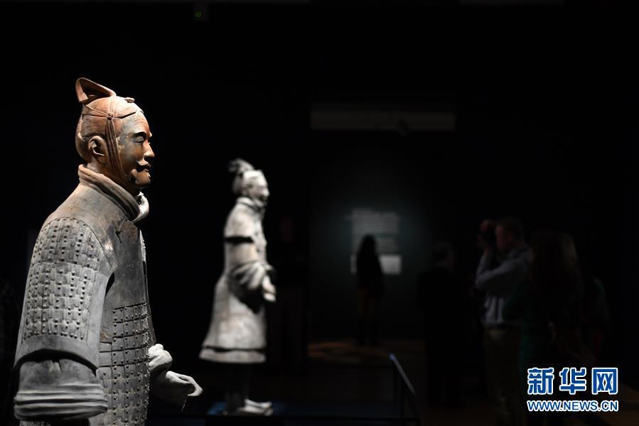 (國際)(4)美國藝術博物館舉辦兵馬俑特展