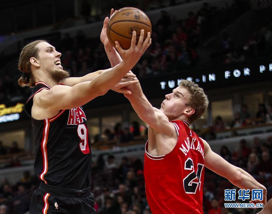 (體育)(3)籃球——NBA常規賽:公牛不敵熱火