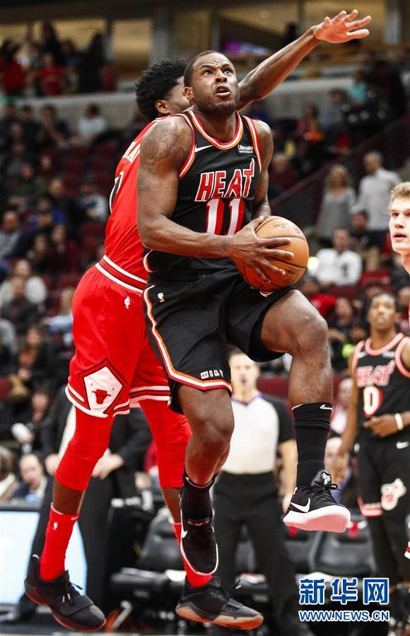 (體育)(2)籃球——NBA常規賽:公牛不敵熱火