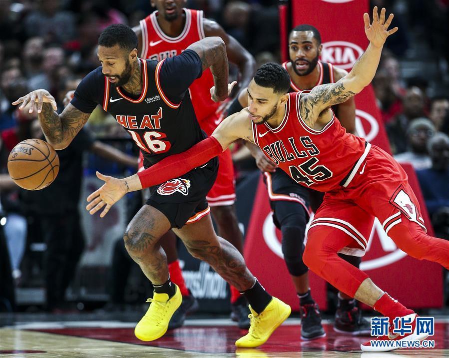 (體育)(5)籃球——NBA常規賽:公牛不敵熱火