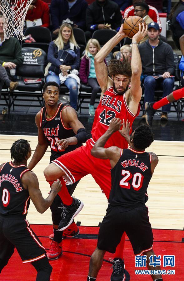 (體育)(10)籃球——NBA常規賽:公牛不敵熱火