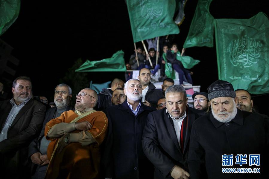(國際)(4)巴勒斯坦多地抗議美承認耶路撒冷為以色列首都