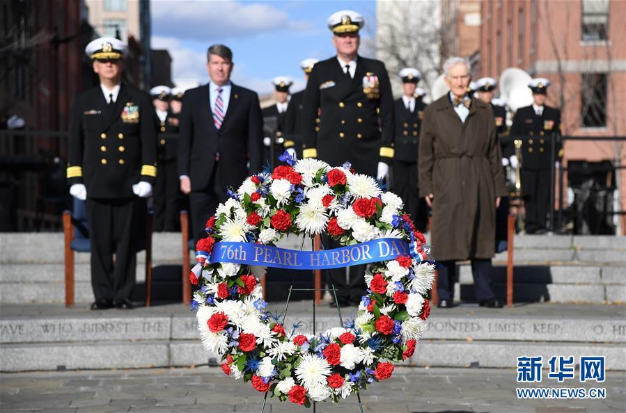(國際)(5)美國華盛頓紀念珍珠港事件76周年