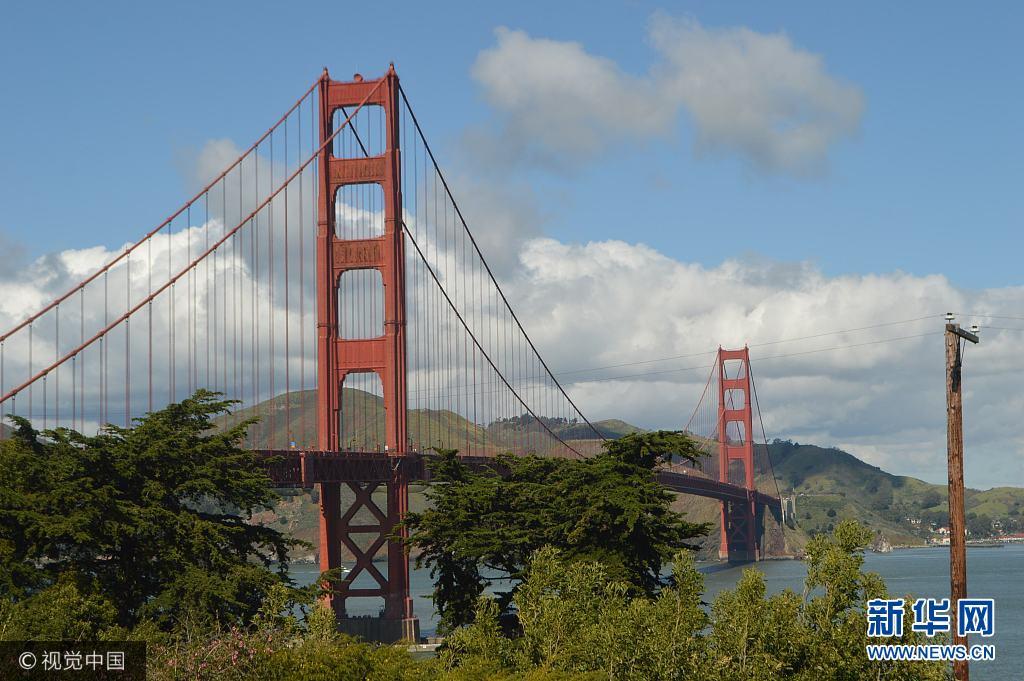 美国旧金山:金门大桥(组图)豆拼图纸老虎图片