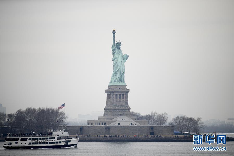 (國際)(1)紐約自由女神像恢復參觀