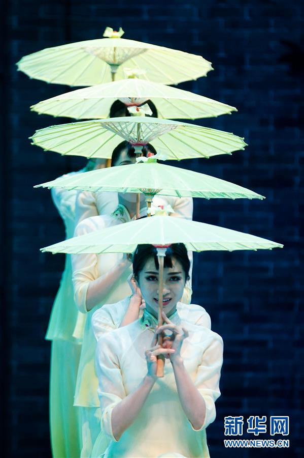 (XHDW)(3)中國舞劇《沙灣往事》在華盛頓上演