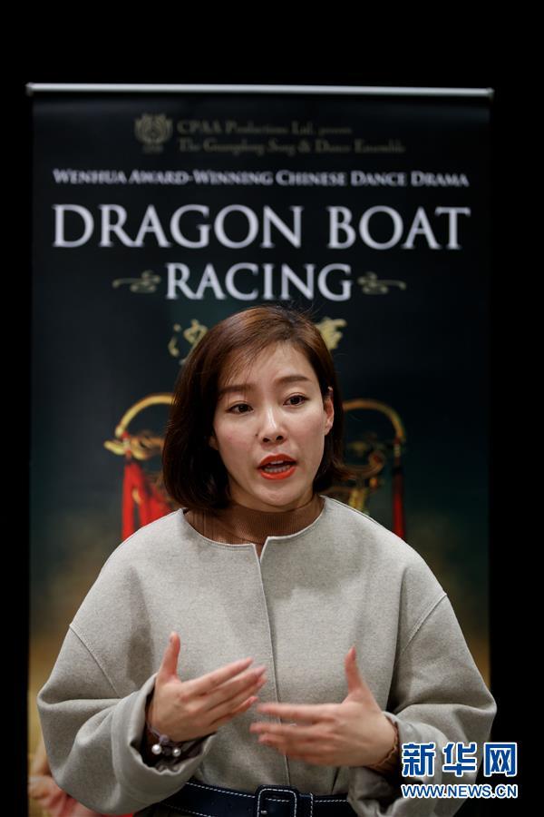 (XHDW)(5)中國舞劇《沙灣往事》在華盛頓上演