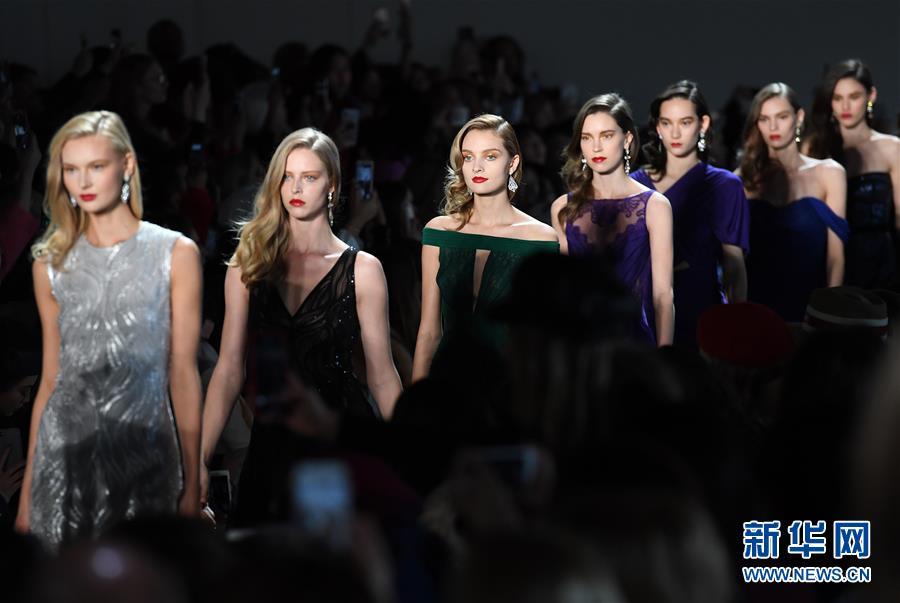 (國際)(1)2018紐約時裝周開幕