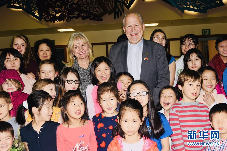 (XHDW)美國阿拉斯加州長華裔社區拜年