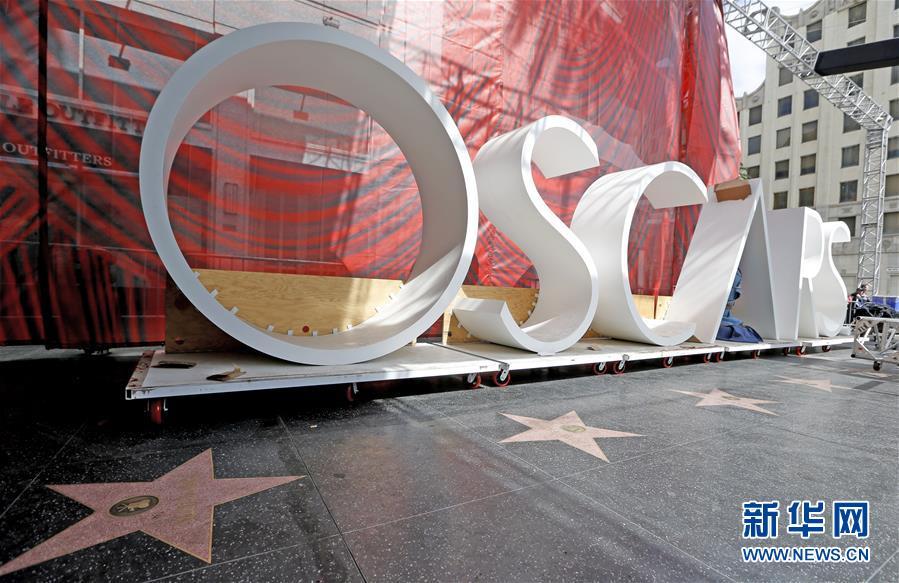 (國際)(1)奧斯卡頒獎典禮準備工作緊張進行