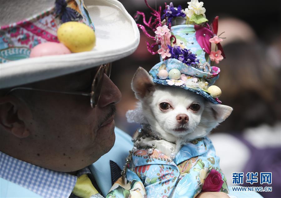 (國際)(2)紐約舉行復活節花帽遊行