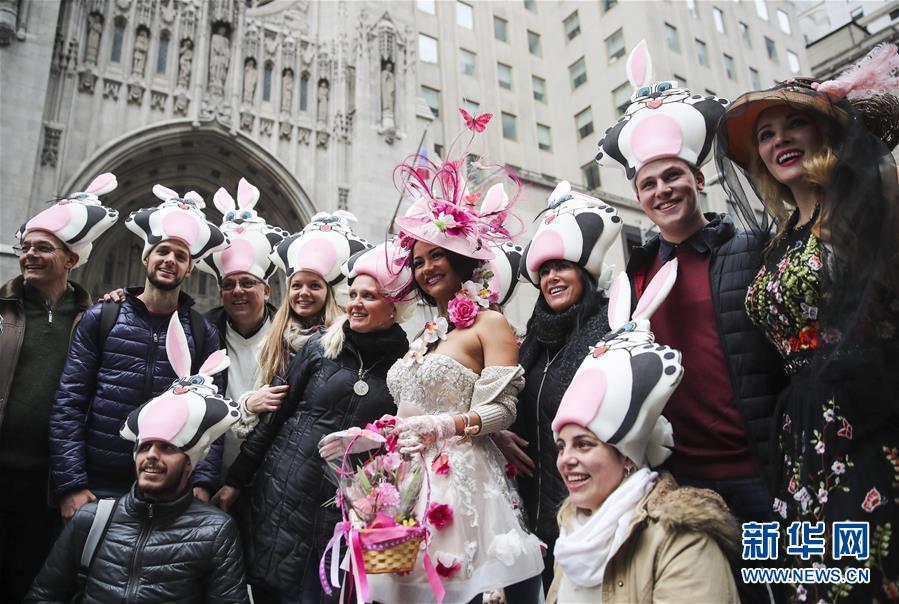 (國際)(5)紐約舉行復活節花帽遊行