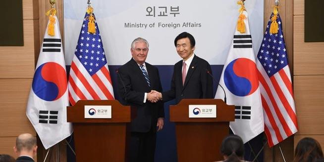 """美國務卿:為讓朝鮮棄核將考慮""""所有可能選項"""""""