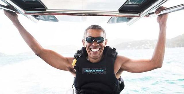 退休有多爽?看看奧巴馬就知道了!