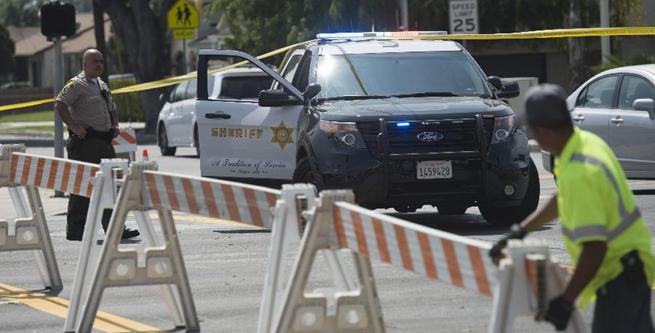 美國加州天普市發生槍擊警察事件
