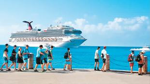 加勒比海郵輪之旅