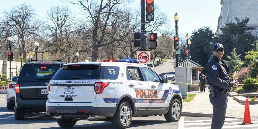 美國華盛頓國會山附近一嫌疑人駕車襲警被捕