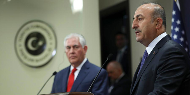 美國國務卿蒂勒森訪問土耳其強調合作打擊恐怖主義