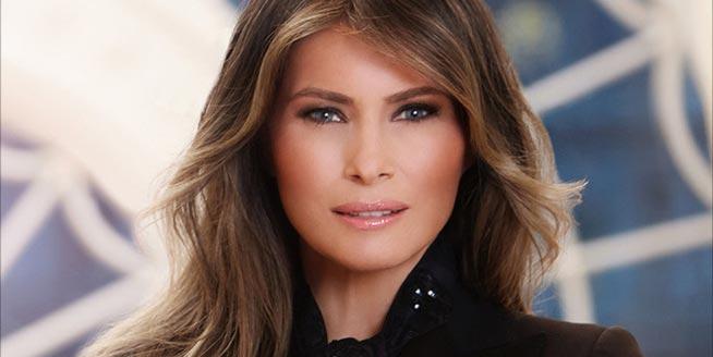 白宮發布第一夫人官方照