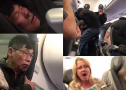 美聯航乘客施暴事件發酵