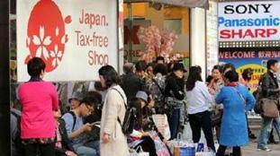中國遊客境外消費金額是美國遊客兩倍