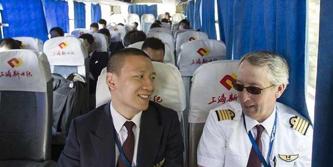 """美國機長的中國""""五一"""""""