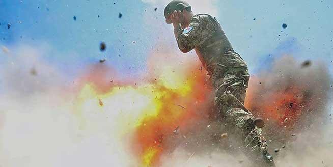 生命最後一刻 美國戰地攝影師記錄爆炸瞬間