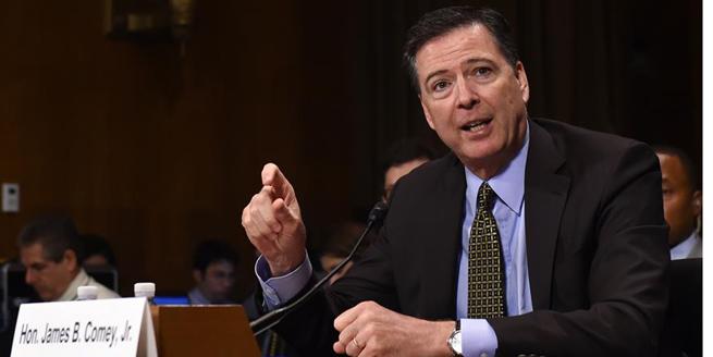 美國總統特朗普解除聯邦調查局局長科米職務