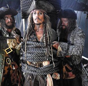 《加勒比海盜5》拷貝疑似被竊