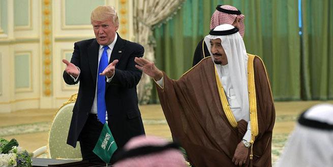 美國和沙特達成1100億美元軍售協議