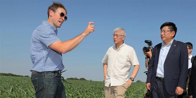 一次特別的對話——中國智庫學者與美國農場主面對面