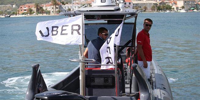 優步公司在克羅地亞首發客船服務