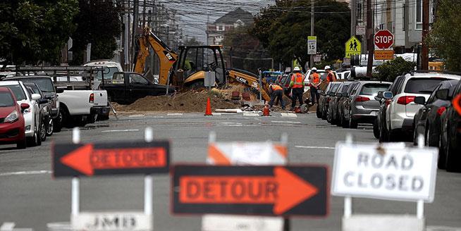 美國加州道路狀況全國最差 司機一年花費6600元修車