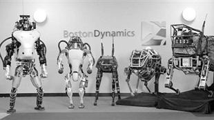 谷歌推出新一代軍事機器人 能開車