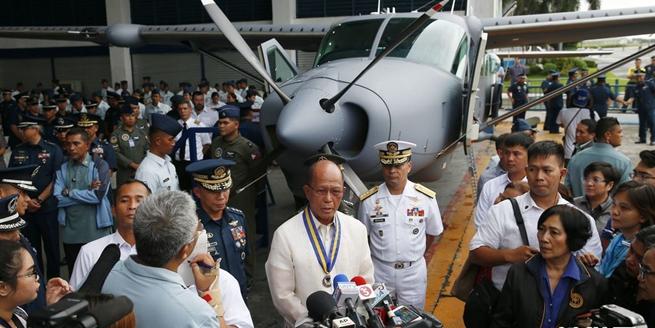美國向菲律賓捐贈兩架偵察機 價值3千萬美元