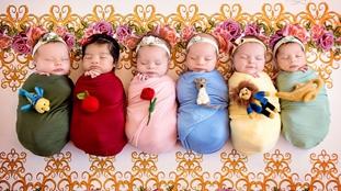 超萌!小嬰兒變身迪士尼公主迷倒眾人