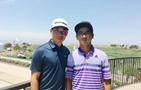 中國選手竇澤成:期待高爾夫美巡賽有更多中國面孔
