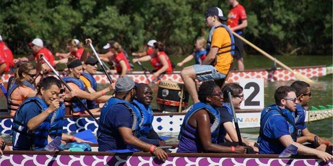 第五屆密爾沃基城龍舟賽舉行