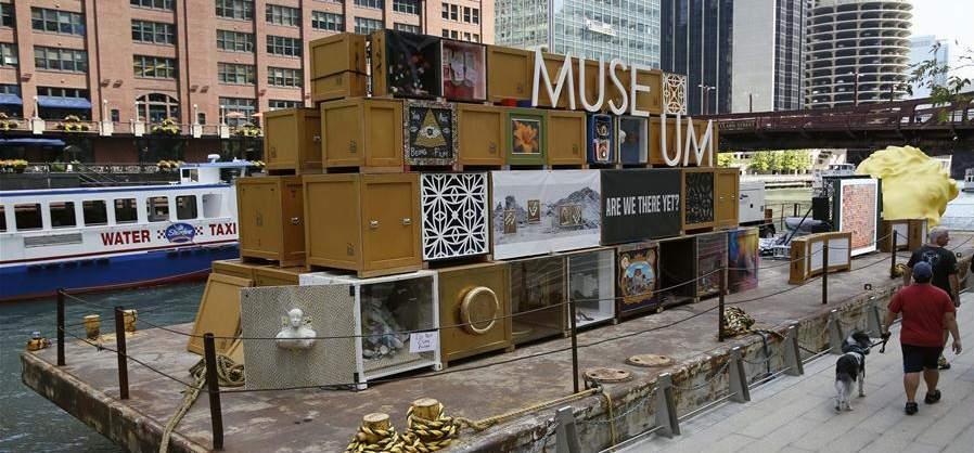 芝加哥河上的浮動博物館(組圖)