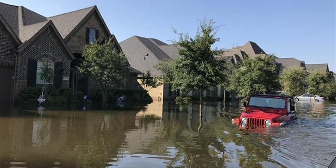休斯敦水庫泄洪 部分居民區遭殃