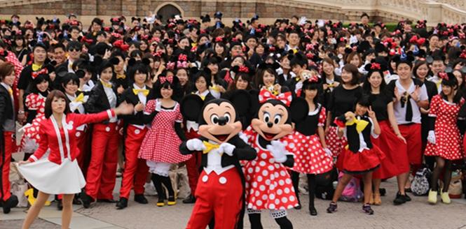 東京迪士尼驚現500只米奇米妮!